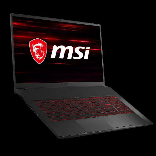 "MSI GF75 Thin 17.3"" Gaming Laptop Core i7-10750H 16GB RAM 512GB SSD 144Hz GTX 1660 Ti 6GB"