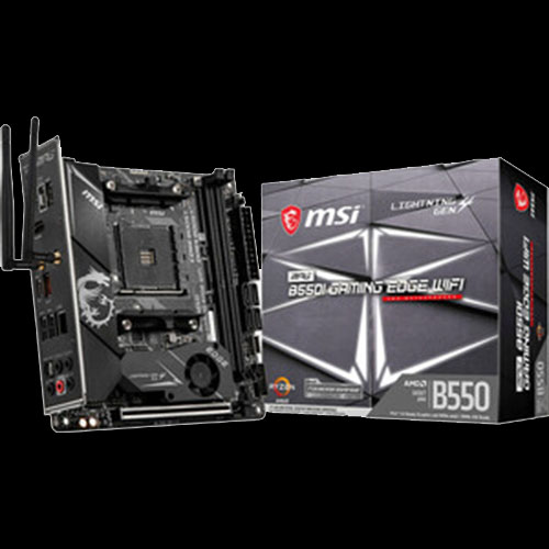 MSI MPG B550I GAMING EDGE WIFI Desktop Motherboard