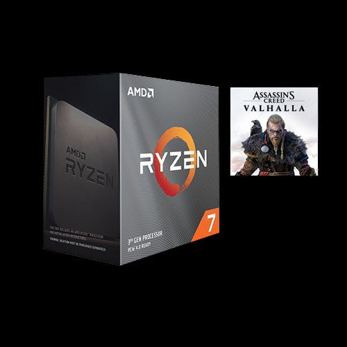 AMD Ryzen 7 3800XT Unlocked Desktop Processor without cooler + Assassin's Creed Valhalla Ryzen Token Code