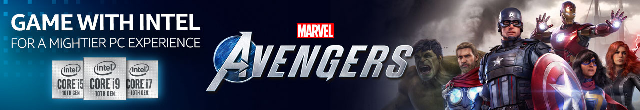 Intel Gamerdays Avengers  Banner2