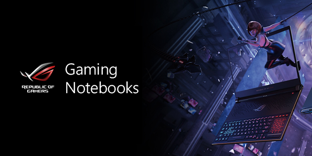 Asus Gaming Notebooks Banner
