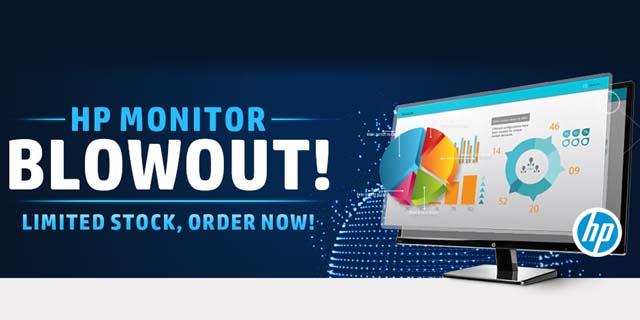 HP Monitor Sale