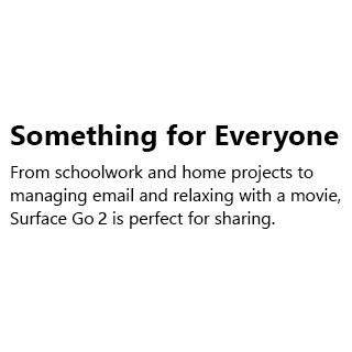 Microsoft Surface Go2 Bundle02  Something For Everyone