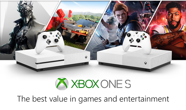 Microsoft Xbox One S General  Banner 01