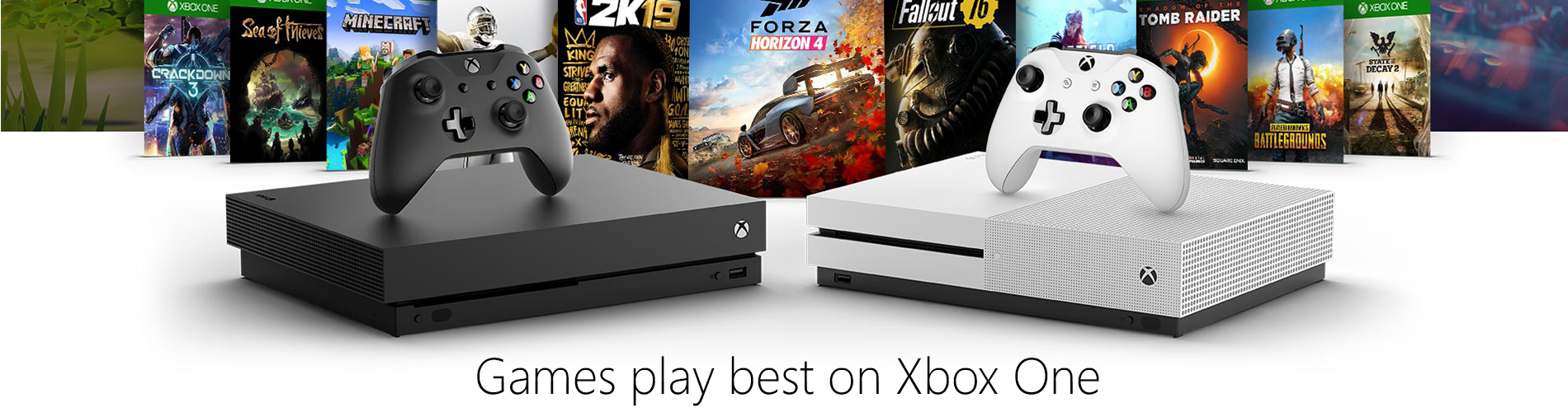 Microsoft Xbox One Landing Page Games Games Play Best Tile