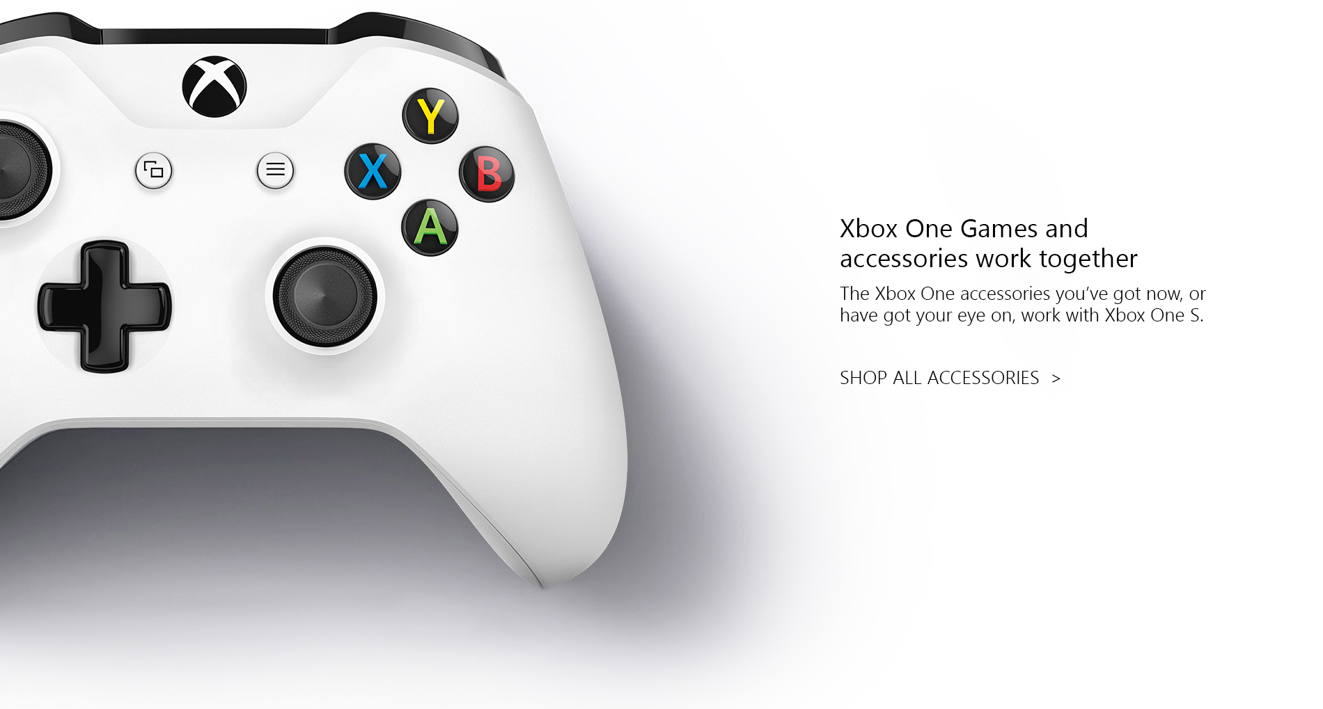 Microsoft Xbox One S Landing Page Edits  Tile 02