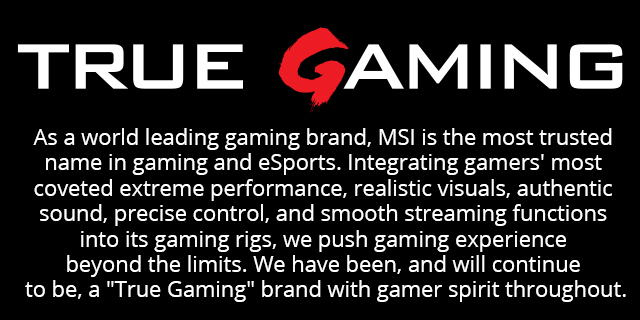 Msi Gaming Closing Banner